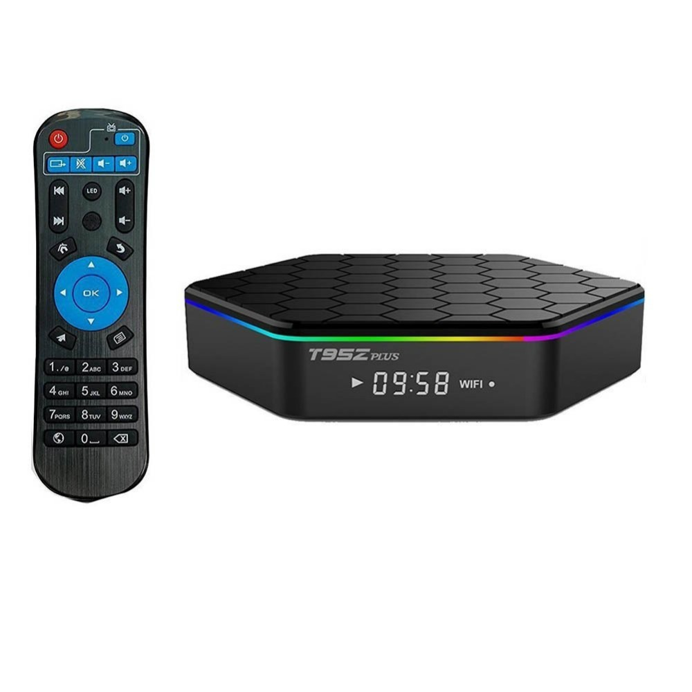 Yeni T95Z ARTı Android TV Kutusu Amlogic S912 Octa Çekirdekli 2 GB 16 GB Android 6.0 Smart TV Box 2.4G/5 GHz Wifi Bluetooth Kodi IPTV kutu