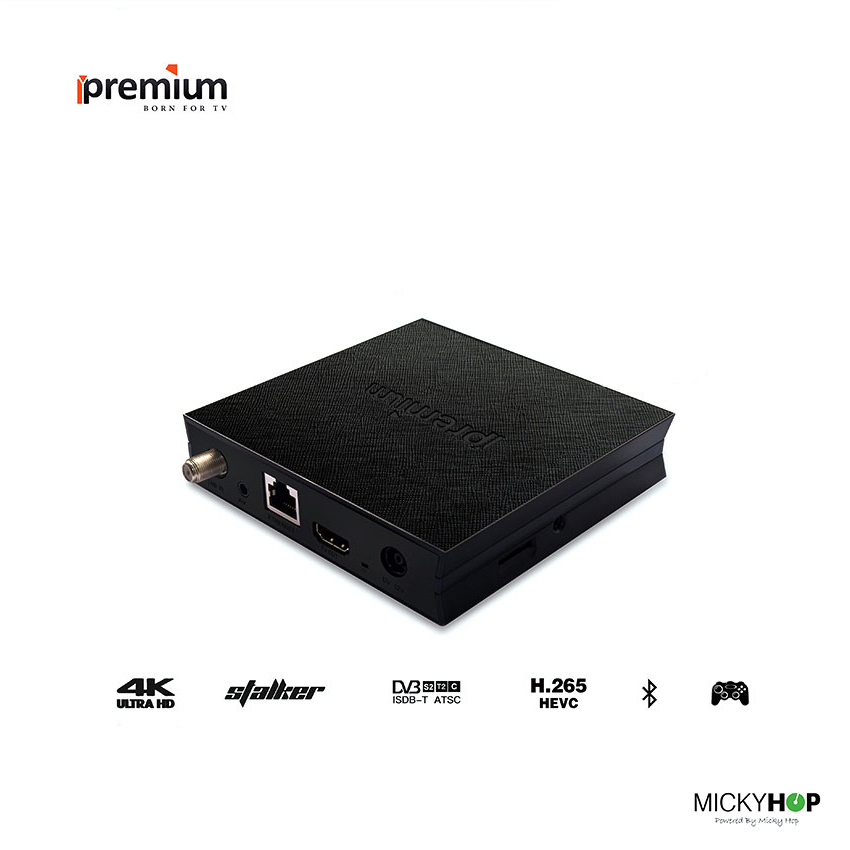 Küresel Sürüm Android 6.0 Ipremium I7 Akıllı TV Kutusu Quad Core HD Wifi HDMI 2.0 Mickyhop OS Stalker Media Player IPTV Set Top Box