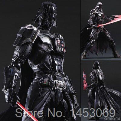Star Wars 7 Playarts KAI Darth Vader PVC Action Figure Koleksiyon Model Oyuncak 27.5 cm KT1689
